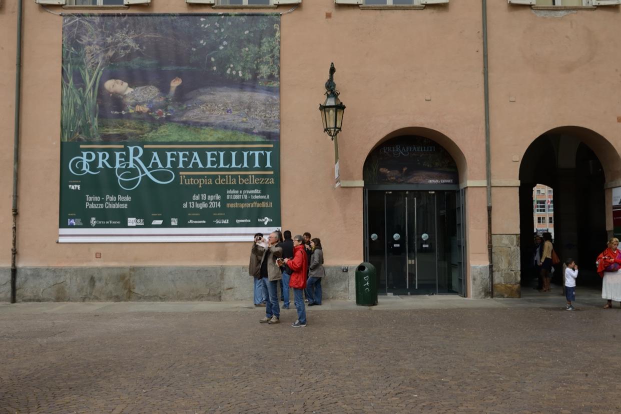 L'ingresso di Palazzo Chiablese. Ph. © Cristina Risciglione